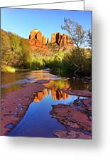 Cathedral Rock Sedona Greeting Card by Matt Suess