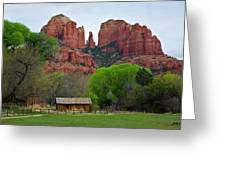 Cathedral Rock V Greeting Card