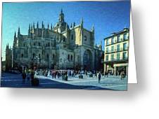 Cathedral, Spain Greeting Card