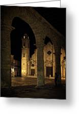 Cathedral Square Havana Cuba Greeting Card