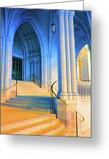 Cathedral Steps Greeting Card