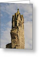 Cathedral Tower Greeting Card