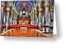 Cathedrial Assumption Greeting Card