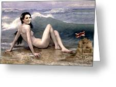 Catherine Duchess Of Cambridge Nude  Greeting Card
