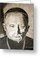 Catholic Cardinal Jozsef Mindszenty Greeting Card