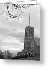Catholic Chapel West Point Greeting Card