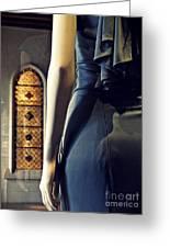 Catholic Imagination Fashion Show 5    Greeting Card