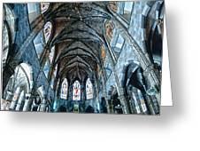 Catolic Church Greeting Card