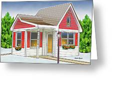 Catonsville Santa House Greeting Card