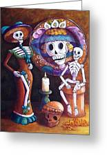 Catrina Group Greeting Card