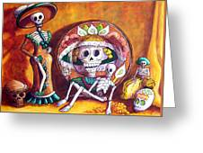 Catrina Still Life Greeting Card