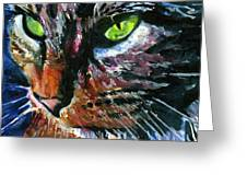 Cats Eyes 11 Greeting Card