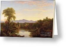 Catskill Creek - New York Greeting Card by Thomas Cole