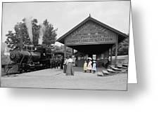 Catskill Railroad Greeting Card