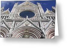 Cattedrale Di Siena Greeting Card