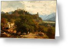 Caucasian Landscape Greeting Card