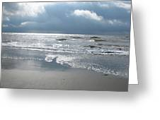 Caught A Wave Greeting Card by B Rossitto