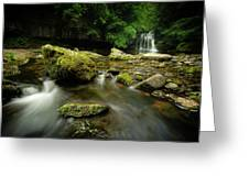 Cauldren Falls Greeting Card