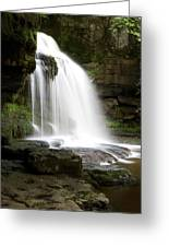 Cauldron Falls, West Burton, North Yorkshire Greeting Card