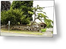 Causland Memorial Park In Anacortes Greeting Card