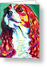 Cavalier - Herald Greeting Card by Alicia VanNoy Call