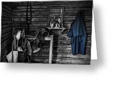 Cavalry Bunkhouse Greeting Card