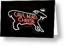 Cave Aged Cheese Greeting Card
