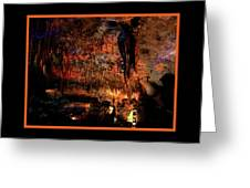 Cave Colors Greeting Card