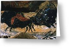 Cave Drawing/lascaux Greeting Card