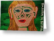 Cave Lady Greeting Card