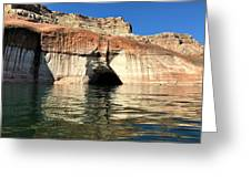 Cave Opening At Lake Powell Greeting Card