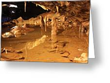 Cave Reflections Greeting Card
