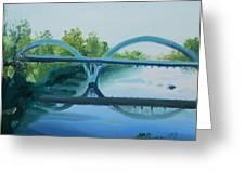Caveman Bridge Grants Pass Oregon Greeting Card