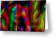 Caverns Of The Mind Greeting Card