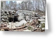 Caves At Lake Guntersville Greeting Card