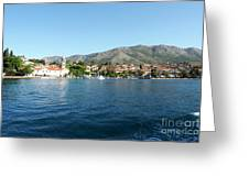 Cavtat, Croatia Greeting Card