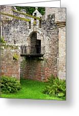 Cawdor Castle Drawbridge Greeting Card