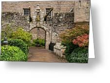 Cawdor Castle Entrance Greeting Card