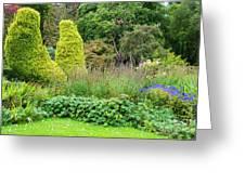 Cawdor Castle Garden Greeting Card