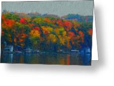 Cayuga Autumn Greeting Card