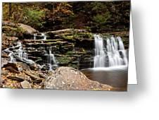 Cayuga Falls Greeting Card