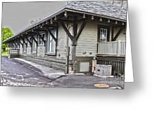 Cayuga Town Hall Greeting Card