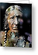 Cayuse Woman Greeting Card