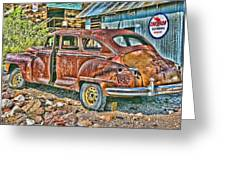 Old Timer 2 Greeting Card