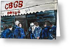 Cbgb's Greeting Card