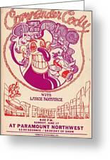 Cc At Paramount Greeting Card