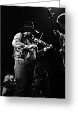 Cdb Winterland 12-13-75 #10 Crop 2 Greeting Card
