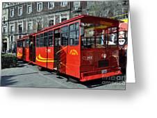 Cdmx Transit Greeting Card