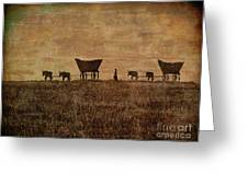 Pioneers Greeting Card
