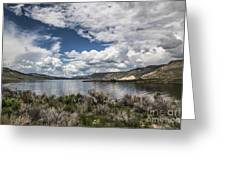 Blue Mesa Greeting Card